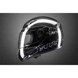 Casque Kini Red Bull Road carbone
