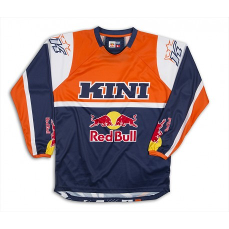 maillot kini red bull vintage bleu orange distriracing. Black Bedroom Furniture Sets. Home Design Ideas