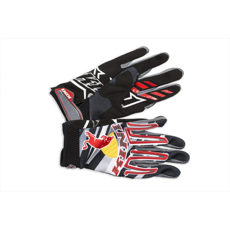 gants kini red bull r volution noir rouge 2014 distriracing. Black Bedroom Furniture Sets. Home Design Ideas