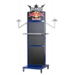 Présentoirs magasin Kini Red Bull