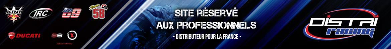 distriracing site réservé aux professionnels de la moto